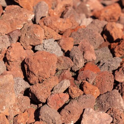 1-1/2 inch Red Lava Stones