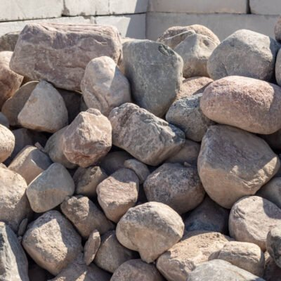 12 inch to 18 inch Granite Boulders Pile