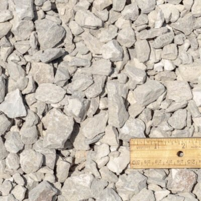 3/4 inch Limestone with Ruler