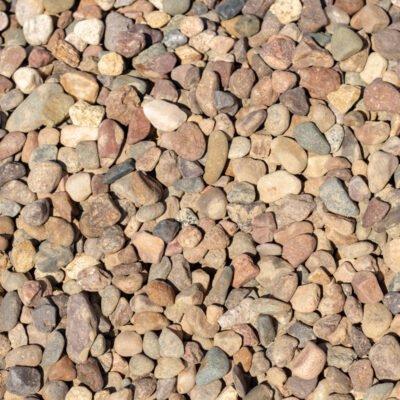 3/4 inch Red Flint Stones