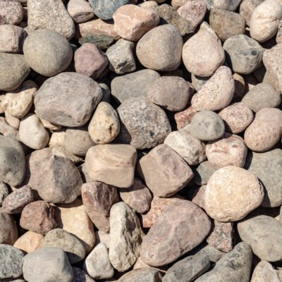 4 inch to 8 inch Granite Boulders