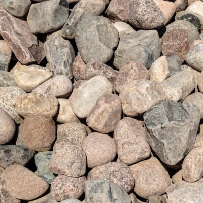 8 inch to 12 inch Granite Boulders Pile