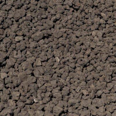 1-1/2 inch Black Lava Stones
