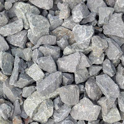 Top-down photo closeup of midnight trap rocks