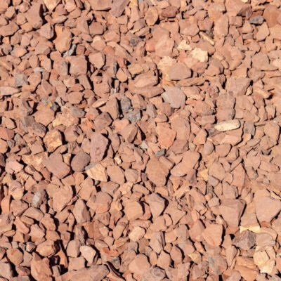 Western Sunset Stones Pile